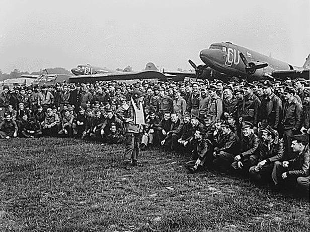 Letiště jižní Anglie 1944