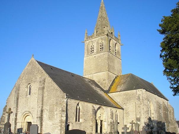Kostel Saint-Come-du-Mont, Francie