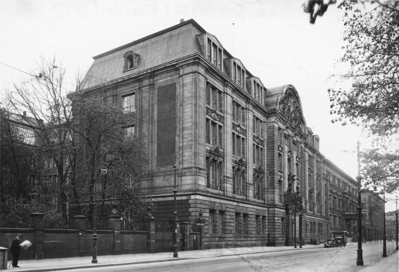 Budova Gestapa v Berlíně, Německo