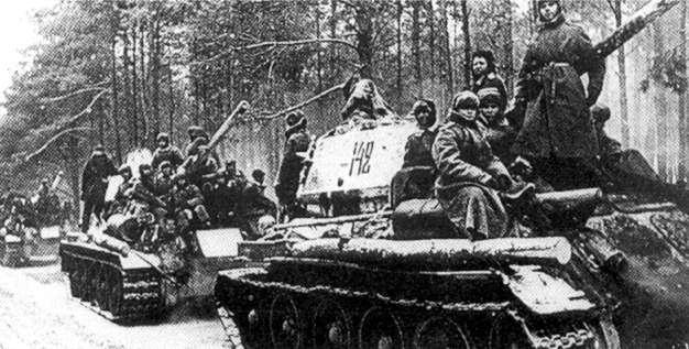 Příprava Sovětských vojsk k útoku