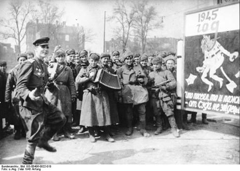 Oslavy dobytí Berlína 1945