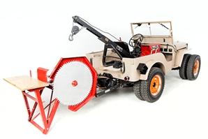 Jeep v úpravě Agro